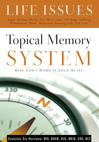 Topical Memory System: Life Issues, Hide God's Word in Your ()