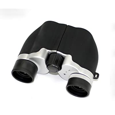 BBSLT-Mini jumelles de mode twin tube HD HD 10 * 21 bleu enduit puissant télescope