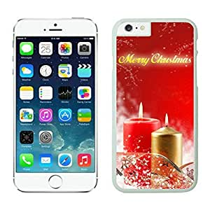 The Christmas Tree On Christmas Day Lovely Mobile Phone Protection Shell for iphone 6 plus Case-Unique Soft Edge Case(2015),Merry Christmas iPhone 6 plus Case 45 White