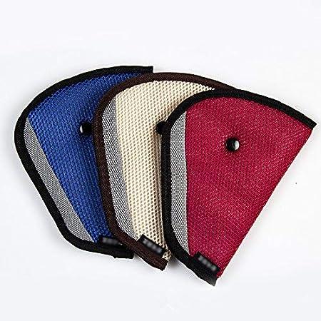 beige /Coj/ín de hombro Cintur/ón desmontable Seguridad Asiento Fixer Protecci/ón 22,5/×12,5CM Kentop Ni/ños Auto Cintur/ón de Seguridad/