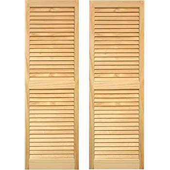 exterior louver. ltl home products shl59 exterior window louvered shutters, louver u
