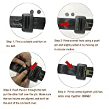 Y-Axis 5 x Seat Belt Button Buckle Clip Stop