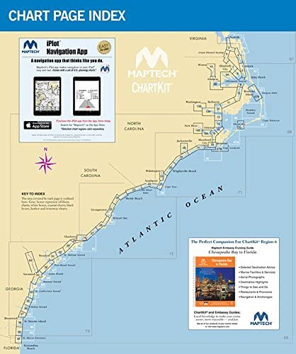 Maptech R06-12 Chtkit R6 Norfolk To Fl Icw