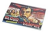 Rikki Knight RK-LGCB-3703 Vintage Movie Posters Art Blood of Vampire 3 Glass Cutting Board, Large, White