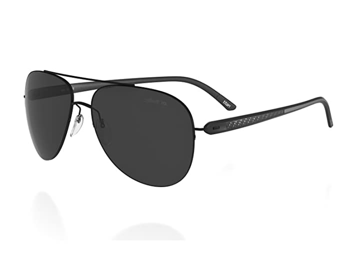 Amazon.com: Silueta anteojos de sol carbono T1 8686 8687 ...
