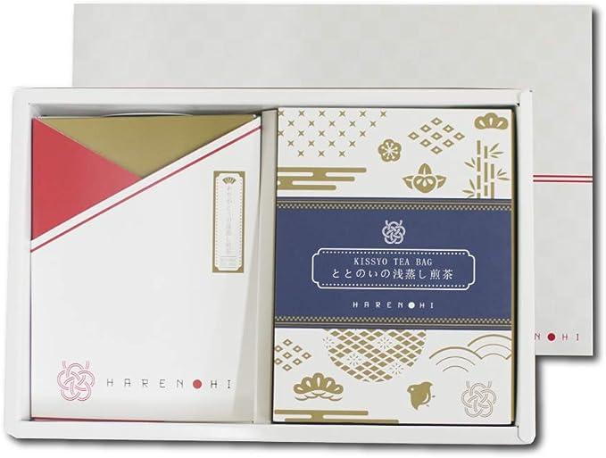 和茶倶楽部「HARENOHI」 ティーバッグ 2種 ギフト ありがとうメッセージティーバッグ 吉祥ティーバッグ浅蒸し煎茶 お祝い 煎茶 和紅茶 ティーバッグ 敬老の日