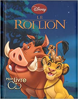 Amazon Fr Le Roi Lion Mon Livre Cd 1cd Audio Disney