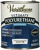 Rust-Oleum 262074 Varathane Polyurethane Clear Interior Matte Finish, 1 Qt.