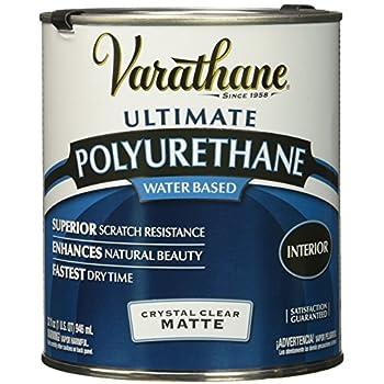 Rust Oleum 262074 Varathane Polyurethane Clear Interior Matte Finish