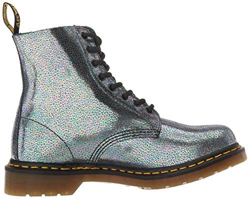 Dr. Martens Mens Pascal Antique Temperley Combat Boot Grey QEeGcUU