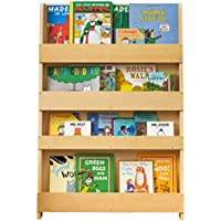 Tidy Books - The Original Kid's Bookcase in Natural - Front Facing Kid's Bookshelf - Perfect Book Storage for Kids 45.3 x 30.3 x 2.8 IN