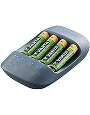 Varta Recharge Accu gerecycled Ready-To-gebruik voorgeladen Eco Charger incl. AAA 2100mAh 4er zwart