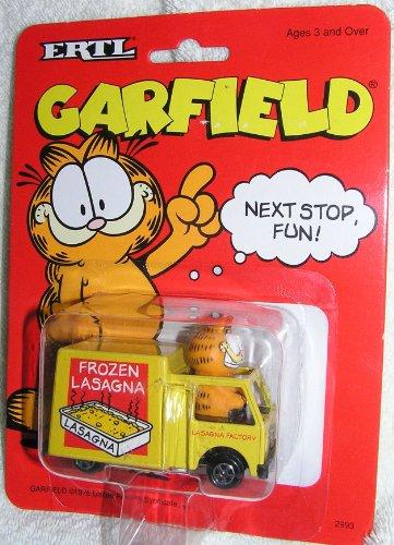 GARFILED NEXT STOP FUN! TOY CAR
