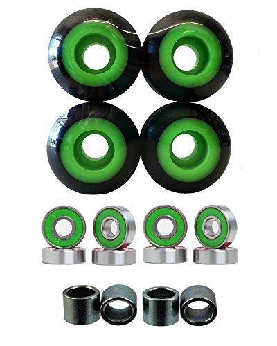 52mm Wheels w/ Bearings & Spacers