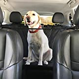 Cheap Dog Car Seat Cover XL Hammock Style and Cargo Liner for FULL SIZE TRUCKS & SUV'S. The Original Design You Can See Your Pet & Your Pet Sees You with The Clearview Window-Keeps Your Pet Calm (X-Large)