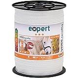 200 m ruban de clôture électrique 40 mm conducteur 9 x 0,16 mm acier inoxydable fil cheval