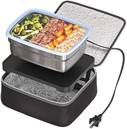 Skywin Portable Oven and Lunch Warmer - Personal Food Warmer for reheating foods at paintings with out an place of job microwave