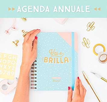Mr Wonderful - Agenda semanal de un año con texto «Vai e ...