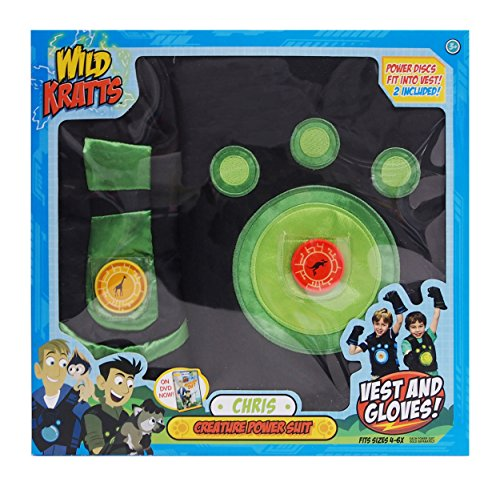 Wild Kratts Creature Power Suit, Chris (Wild Kratt Costume)