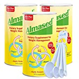 Almased Multi Protein Powder Supplement Supports Weight Loss, Health and Energy 17.6 oz (3 Pack) Bundle with Lumintrail Measuring Spoons Set of 4