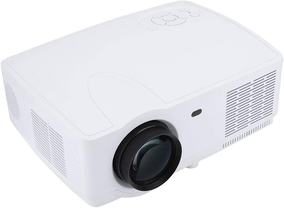 Projector, 1280x800 Resolution TV Projector, for Home Theater Laptop(U.S. regulations)