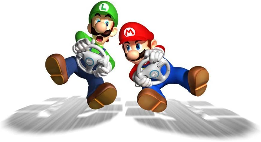 Mario Kart Wii game for kids and adults
