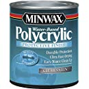 Minwax 63333444 Polycrylic Protective Finish Water Based, quart, Satin