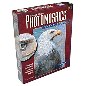 Robert Silvers Photomosaics 500 Piece Puzzle Bald Eagle By Buffalo Games By Buffalo Games