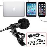 Professional-Grade-Lavalier-Lapel-Microphone