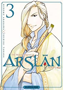 "Afficher ""Arslan, the heroic legend n° 3<br /> heroic legend of Arslân (The)"""