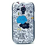 for S3 Mini Case,Galaxy S3 Mini I8190 Case,Danhua Funny Painting Series Picture [The Fault in Our Stars Design Pattern] Back Frame Hard Plastic Shell Case Cover Skin for Samsung Galaxy S3 Mini I8190 (Not for Samsung Galaxy S3 i9300)