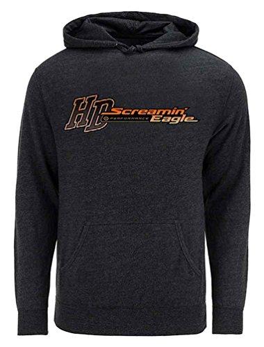 Harley Davidson Mens Eagle (Harley-Davidson Men's Screamin' Eagle Speed & Power Hoodie HARLMS0077 (XL))