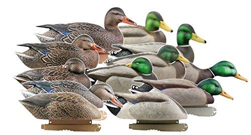 Greenhead Gear Pro-Grade Duck Decoy,Mallards/Harvester Pack,Dozen