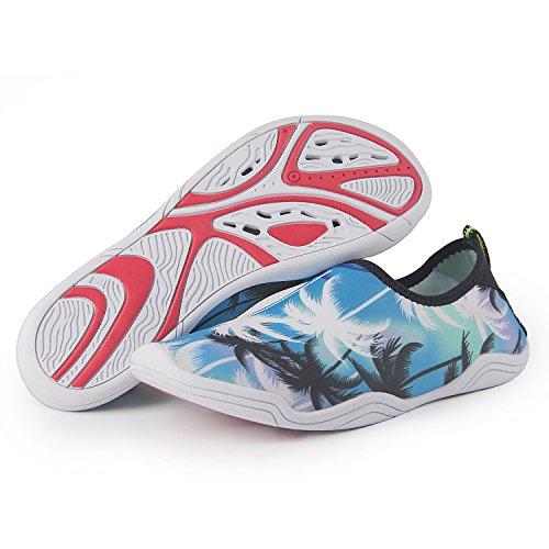 Jardin Bateau Chaussures Surf Yoga Chaussons Homme Nautique Unisexe Schwimmschuhe Aquatiques Blau Femme Plage Plage Conduire Parc Rapide Aqua Chaussures YS Marcher séchage Chaussures mer PYTxwR