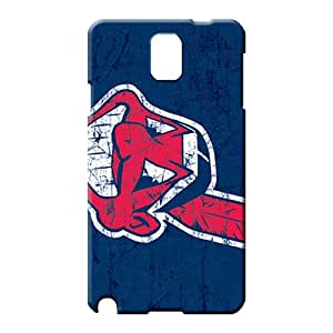 samsung note 3 First-class Perfect New Snap-on case cover cell phone carrying skins cleveland indians mlb baseball