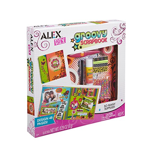 ALEX Toys Craft Groovy Scrapbook]()