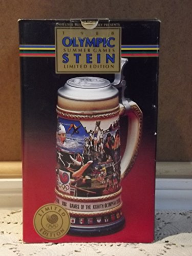 - 1988 Seoul Summer Olympic Games Anheuser-Busch Stein by Gerz