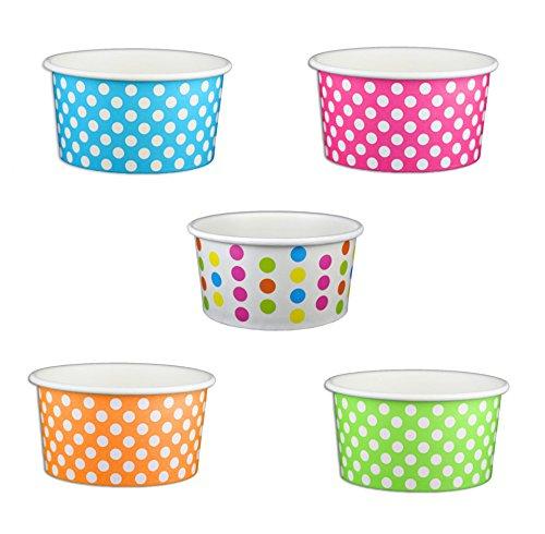 6 oz ice cream paper cups - 2