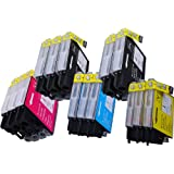 14 Pack Compatible Brother LC-61 , LC-65 5 Black, 3 Cyan, 3 Magenta, 3 Yellow for use with Brother MFC-J410, DCP-145C, DCP-165C, DCP-195C, DCP-375-CW, DCP-385C, DCP-395-CN, DCP-585-CW, DCP-6690-CW, DCP-J125, MFC-250C, MFC-255-CW, MFC-290C, MFC-295-CN, MFC-490-CW, MFC-495-CW, MFC-5490-CN, MFC-5890-CN, MFC-5890-CN, MFC-5895-CW, MFC-6490-CW, MFC-790-CW, MFC-795-CW, MFC-990-CW, MFC-J220, MFC-J410, MFC-J415-W, MFC-J615-W. Ink Cartridges inkjet. LC-61-BK , LC-61-C , LC-61-M , LC-61-Y © Zulu Inks