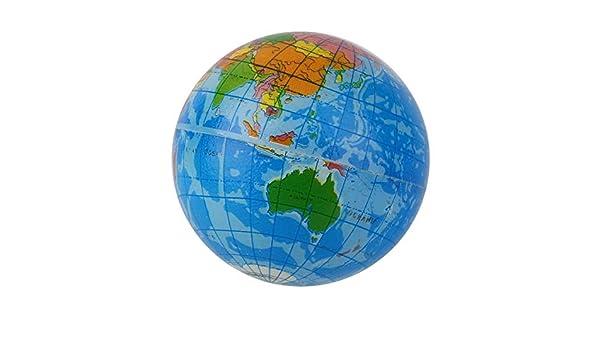 Ogquaton Forma del Mapa del Mundo Azul Globo terrestre ...