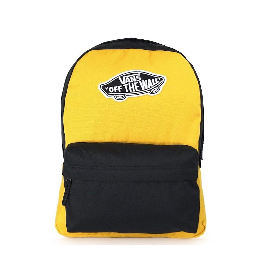 VANS Realm Backpack- Mango Mojito/Black VN0A3UI6TVT1 by Vans