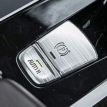 Aluminum Car Electronic Handbrake Auto H Button Cover Trim for BMW 5 series G38 G30 2017 2018 P Buttons G01 X3 2018