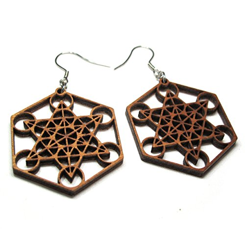 - Wood earrings for women