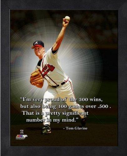 Tom Glavine Atlanta Braves MLB Pro Quotes Photo (Size: 9