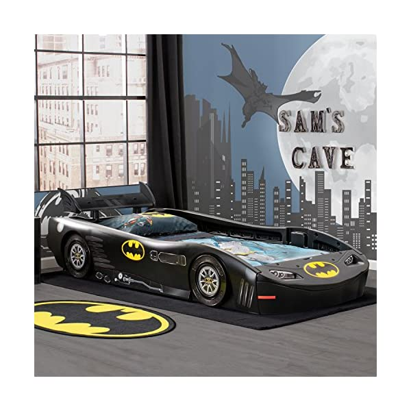 DC Comics Batman Batmobile Car Twin Bed 2