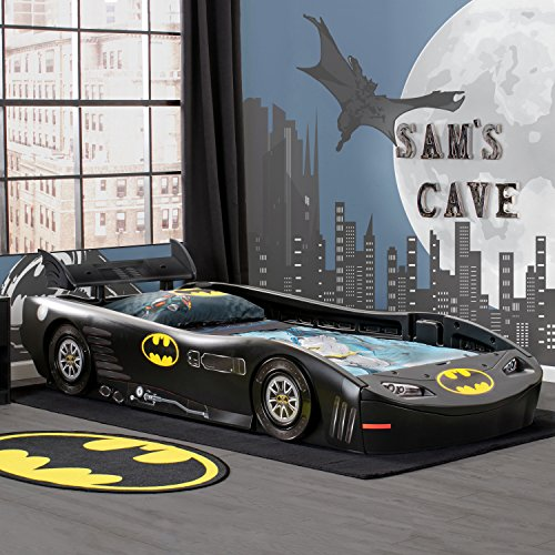 DC Comics Batman Batmobile Car Twin Bed