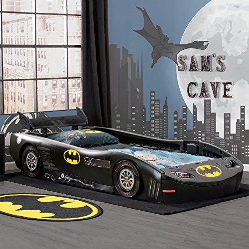 Dc Comics Batman Batmobile Car Twin Bed Cool Toddler Beds