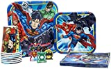Justice League Tableware Pack! Disposable Paper