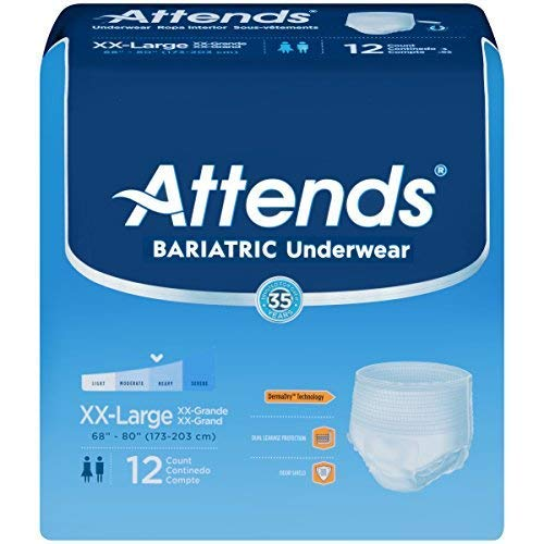 Attends Protective Underwear Extra XXL 48 cs ()