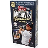 2018 Topps Archives Signature Series Baseball Retired Edition Hobby Box Pack - 1 Autographed Card!